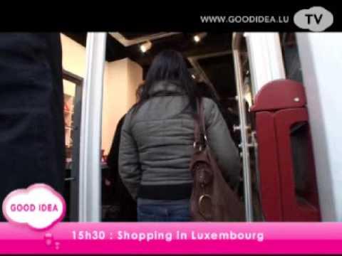 Goodidea: Un samedi shopping et découverte de Luxembourg