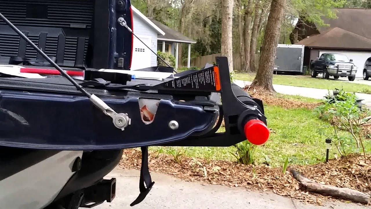 Harbor Freight Truck Bed Cargo Unloader Youtube