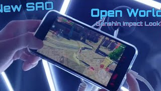 New Sword Art Online Mobile Game Revealed ( Black Swordsman )