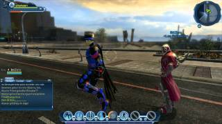 DC universe online PC gameplay