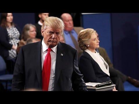 Coups bas et répliques cinglantes entre Trump et Clinton