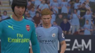 fifa 17 d b gaming commentator man city vs arsenal