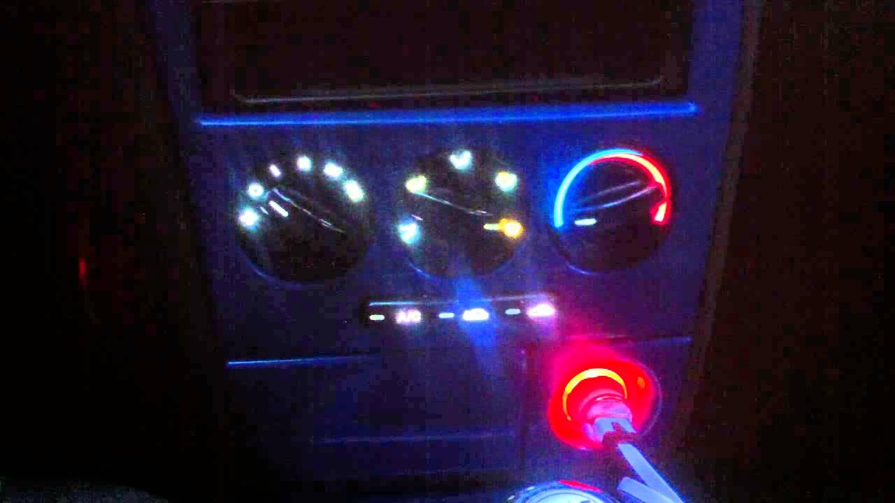 как отключить кондиционер на kia spectra