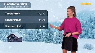 Wetter heute: Die aktuelle Vorhersage (31.01.2019)