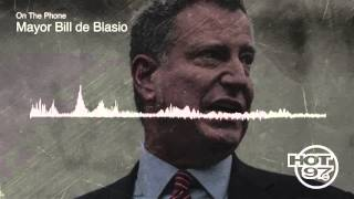 Mayor Bill de Blasio Talk Streetcar Line, Running for Re-election and Legalizing Weed