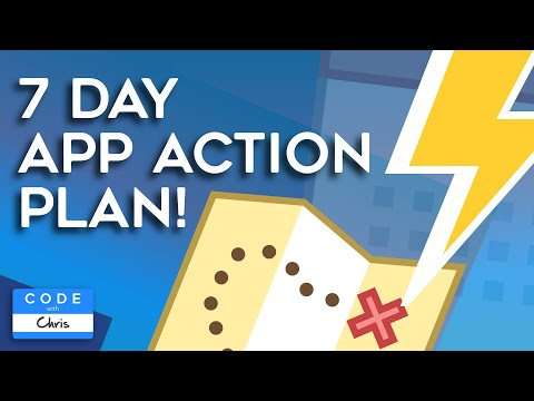 How to Develop an App Customized 7 Day Action Plan