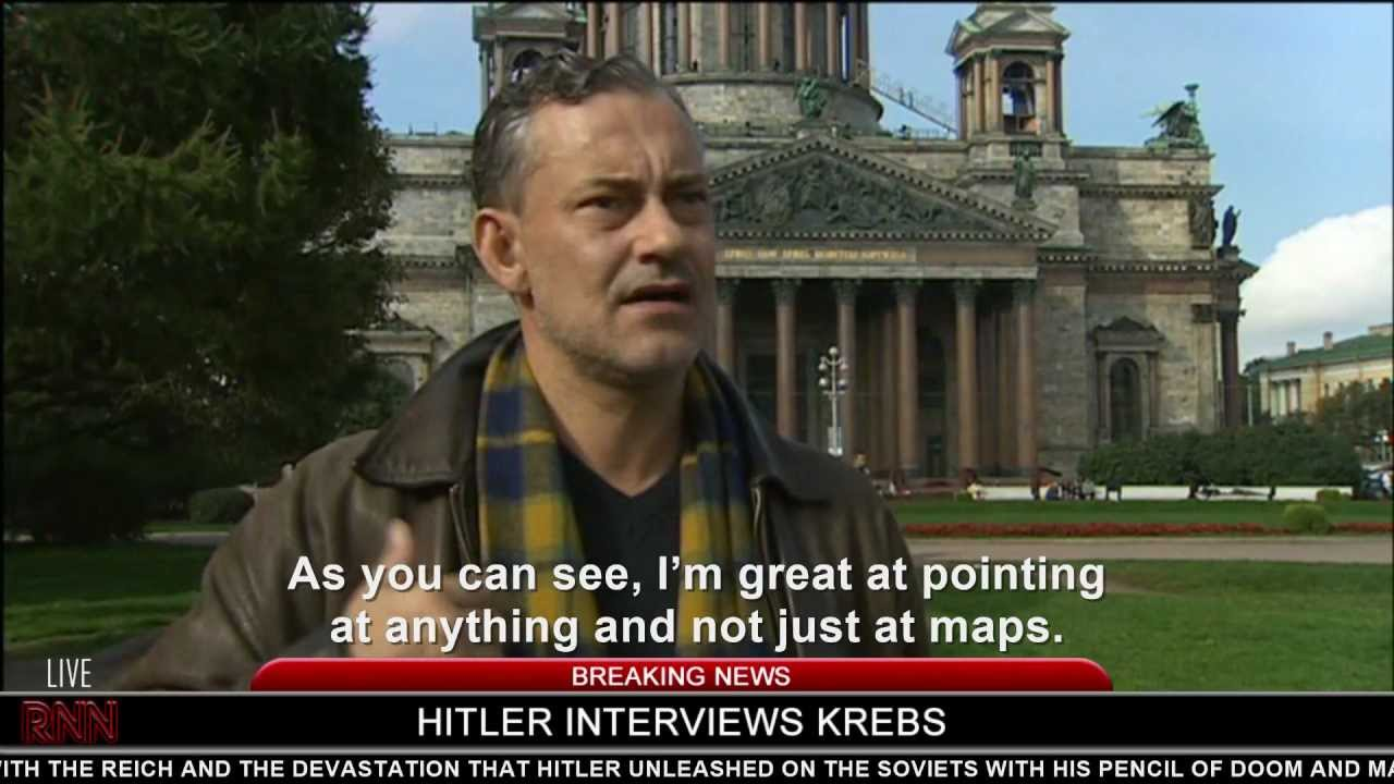 Hitler interviews Krebs