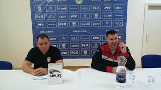 ARKUS liga 6. kolo / Dinamo - Radnički / Izjave aktera meča nakon utakmice