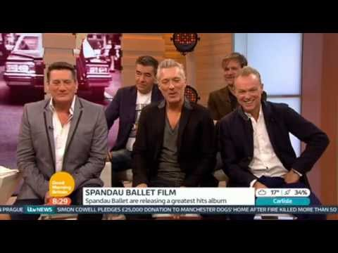 Spandau Ballet Interview Good Morning Britain 2014