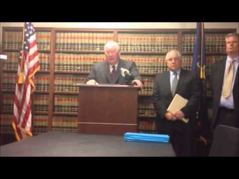Lehigh County District Attorney Jim Martin on $800,000 embezzling charges