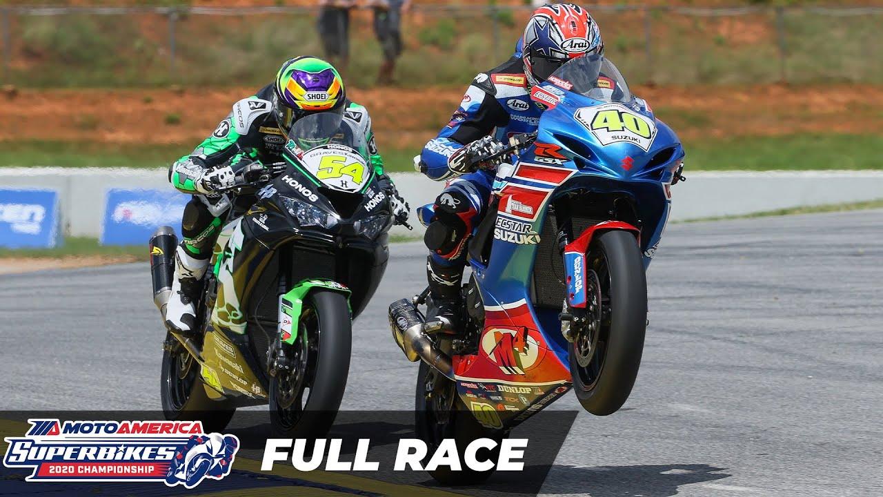 Download MotoAmerica Supersport Race 1 at Road Atlanta 2020