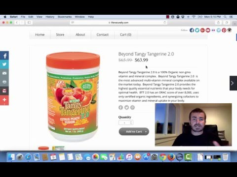 Beyond Tangy Tangerine 2.0 Review | Vitamin and Mineral Supplement
