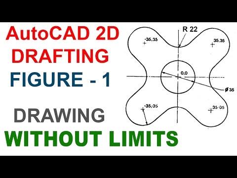 AUTOCAD 2D DRAFTING FIGURE 1