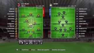 "PES 2014: ""AC MILAN vs. INTER"" (Gameplay Comentado) HD"