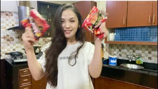 CrabKING and spicy noodles | Teresa's home made foods