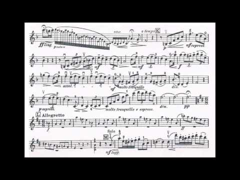 Seitz, Friedrich violin concerto opus 15 for violin + piano