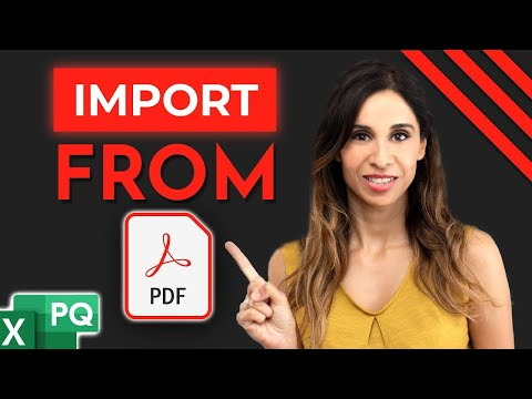 Properly Convert PDF to Excel