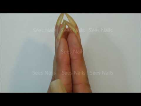 Long Natural Nails Vlog and Fingerless Gloves Giveaway [CLOSED]