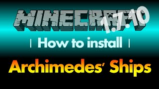 How to install Archimedes