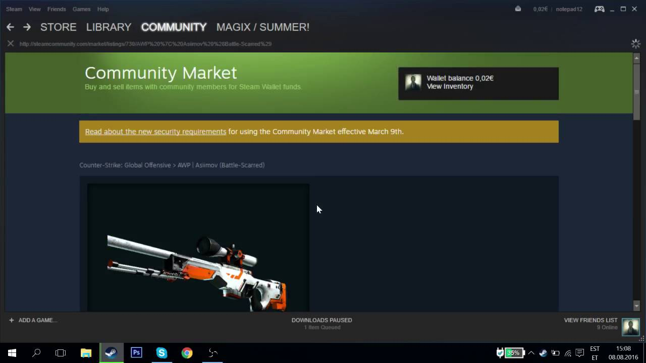 buy steam skins