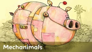 Tornadoes, Robots, Flying Pigs And More In Mechanimals