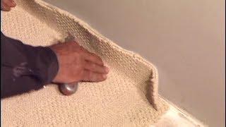 Как стелить ковролин на бетон: укладка и видео