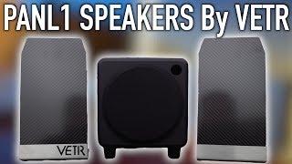 VETR PANL1 Speaker Kickstarter - Review And Sound Test