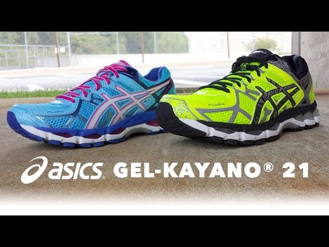 asics gel kayano 21 lite show test