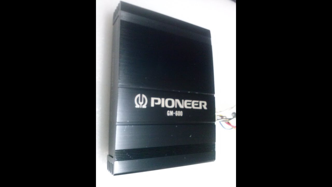 medium resolution of pioneer modelo gm 600 amplificador youtube gm alternator diagrams pioneer gm 600 wiring diagram