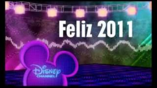 Disney Channel Spain - Happy 2011 / Feliz 2011 - January Promo