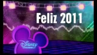 Disney Channel Spain - Happy 2011 / Feliz 2011 - January Promo