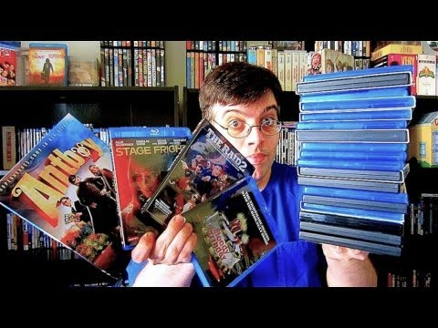 My Blu-Ray Collection Update 7/5/14 Blu ray and Dvd Movie Reviews
