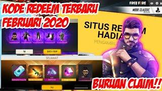 BURUAN CLAIM!! KODE REDEEM FREE FIRE TERBARU FEBRUARI 2020 - CLAIM SEKARANG