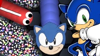 Fastest Skin In The Game?! - Slither.io Sonic The HedgeHog Skin - 25 Year Anniversary Special Skin!