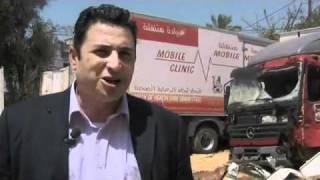 Magyar orvos Gázában