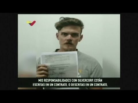 Detained American, in Venezuelan TV statement, says he plotted Maduro's capture