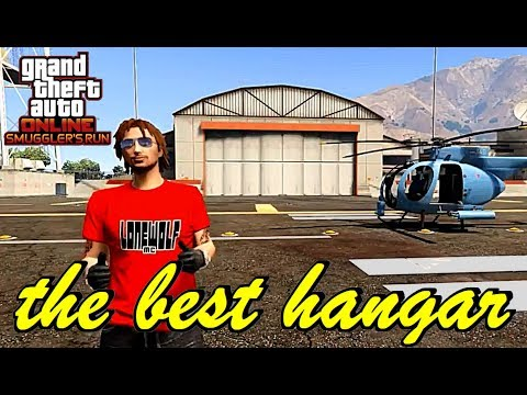 GTA 5 Online - The Best Hangar - FZ 3499 - Smuggler's Run - Spend your money wisely