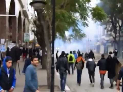 Tunis 06-02-2013 le jour du L' Assassinat de Choukri Belaïd