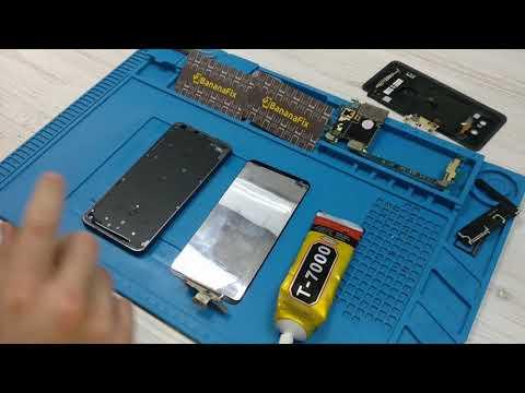 Ремонт LG G6: замена стекла (тачскрина) дисплея - разборка - BananaFix