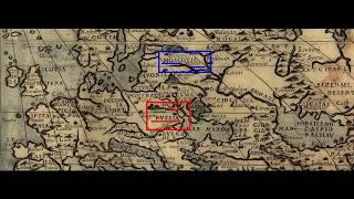 Русь на древних картах Европы   наглядное пособие