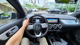 New Mercedes GLA AMG Line Test Drive Review POV 2020