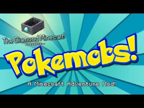 DANTDM'S OLDEST VIDEO (PUBLIC) Minecraft: Pokemobs Adventure Mod #1 'The Journey Begins..'