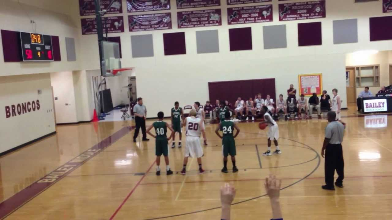 Bailey Middle School vs. Whitewater - Game 1 - 2012-2013 ...