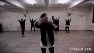 Danielle Peazer dancing to James Arthur