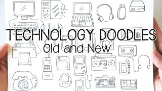 Technology/Gadgets Doodles | Doodle with Me