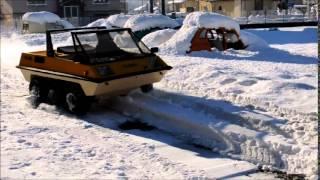 Assistenza2cv - PONCIN VP2000 - snow test
