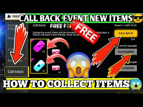Free fire Call Back Event Full Detail 😱💥|| HOW TO COLLECT DIAMOND AND WEAPON ROYAL VOUCHER 🔥🔥