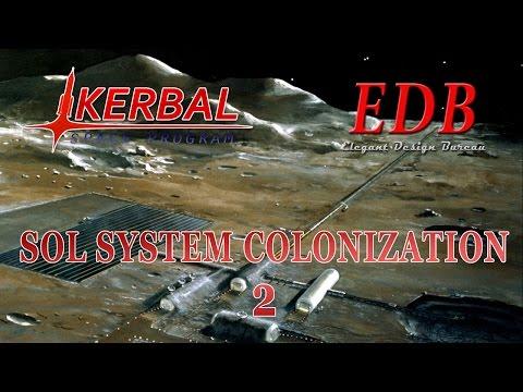 Sol System Colonization in KSP/RO - 02 (2015-11-01)