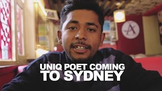 Uniq Poet Coming To Sydney! (YamaBuddha Tribute Event : Say No To Suicide)