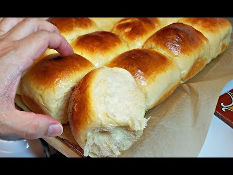 Soft Dinner Rolls Recipe | How To Make Fluffy Rolls | Sweet Milk Rolls Recipe